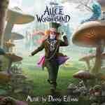 CD image ALICE IN WONDERLAND (MUSIC BY DANNY ELFMAN) - (OST)