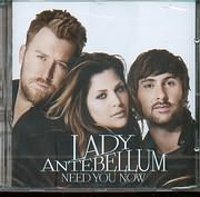 CD image LADY ANTEBELLUM / NEED YOU NOW