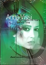 CD image ANNA VISSI / COMPLETE EMI YEARS BACK TO TIME (4CD)