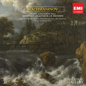 CD image RACHMANINOV / PIANO CONCERTO N.2 IN C MINOR, PAGANINI RHAPSODY (NATIONAL GALLERY COLLECTION) (FOWKE)