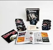 CD + DVD + BOOK image WHITESNAKE / BOX O SNAKES : THE SUNBURST YEARS 1978 - 1982 (9 CD + DVD + 7INCH LP SINGLE)