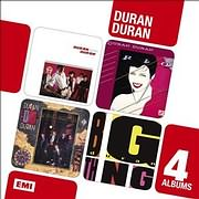 CD image DURAN DURAN / 4 IN 1 ALBUM BOXSET - DURAN DURAN / RIO / SEVEN AND THE RAGGED TIGER / BIG THING (4CD)