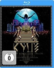 DVD image KYLIE MINOGUE / APHRODITE LES FOLIES - LIVE IN LONDON (2 BLU - RAY DVD)