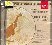 CD image ΘΑΝΟΣ ΜΙΚΡΟΥΤΣΙΚΟΣ - THANOS MIKROUTSIKOS / ΠΟΙΗΣΗ ΓΙΑΝΝΗΣ ΡΙΤΣΟΣ - THE RETURN OF HELEN (2CD)