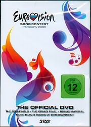 DVD image EUROVISION SONG CONTEST 2009 (3 DVD) - (DVD)