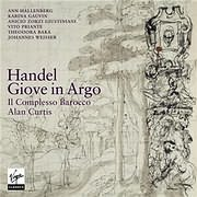 CD image HANDEL / GIOVE IN ARGO (ALAN CURTIS) (3CD)