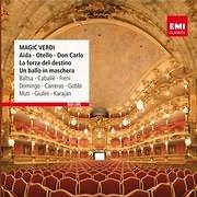 CD image PLACIDO DOMINGO / MAGIC VERDI (AIDA, OTELLO, DON CARLO, LA FORZA DEL DESTINO)
