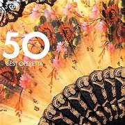 CD image 50 BEST OPERETTA - (VARIOUS) (3 CD)