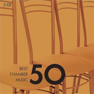 CD image 50 BEST CHAMBER MUSIC - (VARIOUS) (3 CD)