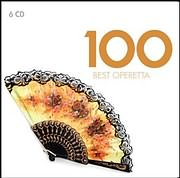 CD image 100 BEST OPERETTA (6 CD) - (VARIOUS)