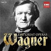 CD image WAGNER / THE GREAT OPERAS BOX SET (36 CD)
