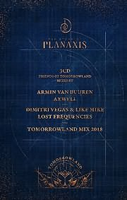 CD image for TOMORROWLAND 2018 - THE STORY OF PLANAXIS - (VARIOUS) (3 CD)