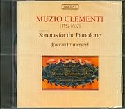 CD image CLEMENTI / SONATAS FROM OP.24 - 25 - 37 - 13 / IMMERSEEL (FORTEPIANO)