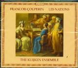 CD image COUPERIN / LES NATIONS / THE KUIJKEN ENDSEMBLE (2CD)