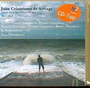 CD image JUAN CRISOSTOMO DE ARRIAGA / OBRAS VOCALE - VOCAL WORKS