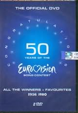 DVD image EUROVISION / 50 YEARS 1956 - 1980 (2 DVD) - (DVD)