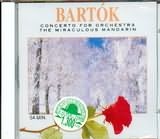 CD image BARTOK / CONCERTO FOR ORCHESTRA AND THE MIRACULOUS MANDARIN