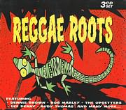 CD image for REGGAE ROOTS (BROWN, MARLEY, PERRY, THOMAS, THE UPSETTERS AND MANY MORE) - (VARIOUS) (3 CD)