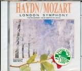 CD image HAYDN / LONDON SYMPHONY NO.104 - SYMPHONY NO.22 / MOZART / HAYDN QUARTET