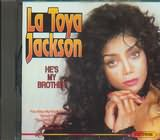 CD image for LA TOYA JACKSON / HE S MY BROTHER