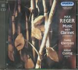 CD image REGER / MUSIC WITH CLARINET COMPLETE / KLENYAN - CSALOG (2CD)