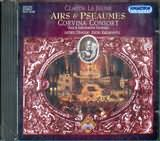 CD image CLAUDE LE JEUNE / AIRS AND PSEAUMES / CORVINA CONSORT