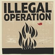 ILLEGAL OPERATION / THE LEAF - ELEVEN (7INCH SINGLE) (VINYL)