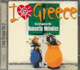 CD image I LOVE GREECE / 18 INSTRUMENTAL ROMANTIC HITS