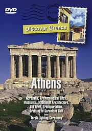 CD image for DISCOVER GREECE: ATHENS - ACROPOLIS, ARCHEOLOGICAL SITES, MUSEUMS, OLD TOWN, SARONICOS ETC. - (DVD)