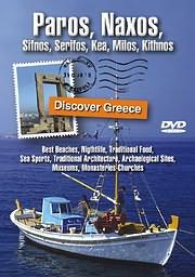 CD Image for DISCOVER GREECE: PAROS, NAXOS, SIFNOS, SERIFOS, KEA, MILOS, KITHNOS - (DVD)