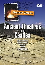 DVD VIDEO image DISCOVER GREECE: ANCIENT THEATRES AND CASTLES - CASTLES IN GREECE, ANCIENT THEATRES, EPIDAURUS - (DVD)