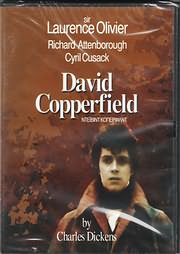 CD image for DAVID COPPERFIELD (CHARLES DICKENS) (SIR LAURENCE OLIVIER, RICHARD ATTENBOROUGH, C CUSACK) - (DVD VIDEO)