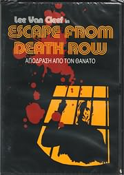 DVD VIDEO image ESCAPE FROM DEATH ROW - APODRASI APO TON THANATO (LEE VAN CLEEF) - (DVD VIDEO)