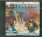 CD Image for ALEXANDROS / APOLLO TEMPLE - SITES AND SOUNDS OF GREECE (CD + DVD)