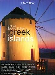 CD image for GREEK ISLANDS (RHODES - KOS - MYKONOS - PAROS - NAXOS - DELOS - TINOS AND MORE) (4 DVD) - (DVD VIDEO)