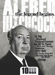 CD Image for ALFRED HITCHCOCK - THE LEGEND BEGINS (THE RING - BLACKMAIL - YOUNG AND INNOCENT ETC) (10DVD) - (DVD)