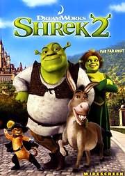 CD image for SREK 2 - (SHREK 2) - (DVD)