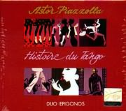 CD image ASTOR PIAZZOLLA / HISTORE DU TANGO - KIRIAKOS TZORTZINAKIS / TWIN MACHINE