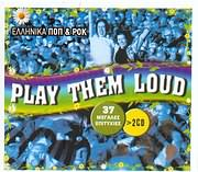 CD image ELLINIKA POP KAI ROK / PLAY THEM LOUD - 37 MEGALES EPITYHIES (2CD)