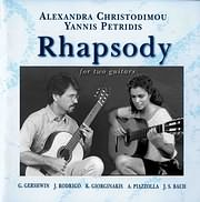 CD image ALEXANDRA HRISTOMIDOU - GIANNIS PETRIDIS / RHAPSODY FOR TWO GUITARS