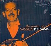 CD image VASILIS TSITSANIS / THE MUSIC OF VASSILIS TSITSANIS