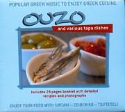 CD Image for POPULAR GREEK MUSIC TO ENJOY GREEK CUISINE - OUZO - AND VARIOUS TAPA DISHES