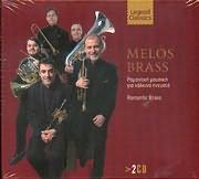 MELOS BRASS / <br>ROMANTIKI MOUSIKI GIA HALKINA PNEYSTA - ROMANITC BRASS (2CD)