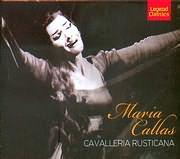 MARIA CALLAS / PIETRO MASCAGNI / CAVALLERIA RUSTICANA - MELODRAM IN ONE ACT