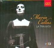 MARIA CALLAS - GIUSEPPE VERDI / LA TRAVIATA - OPERA IN THREE ACTS (2CD)