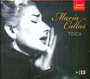 CD image for MARIA CALLAS - GIACOMO PUCCINI / TOSCA - OPERA IN THREE ACTS (2CD)