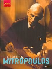 ΔΗΜΗΤΡΗΣ ΜΗΤΡΟΠΟΥΛΟΣ - DIMITRI MITROPOULOS (5CD)