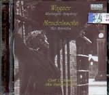 CD image WAGNER / NIBELUNGEN SYMPHONY - MENDELSSOHN / THE HEBRIDES - PANAGIOTOPOULOS