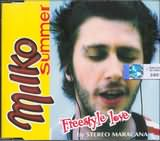 CD image MILKO SUMER / FREESTYLE LOVE DY STEREO MARACANA