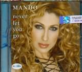 ΜΑΝΤΩ / <br>NEVER LET YOU GO (CD SINGLE)